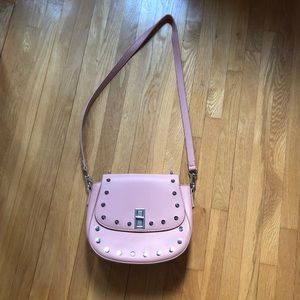 Urban Outfitters Skinnydip pink side bag